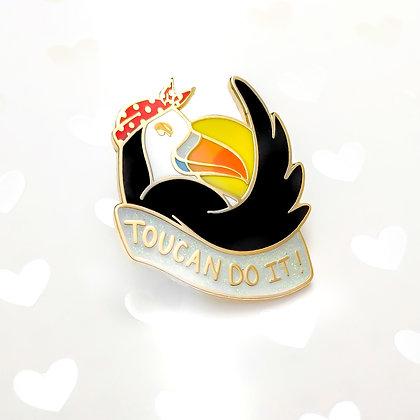 Toucan Do It Pins