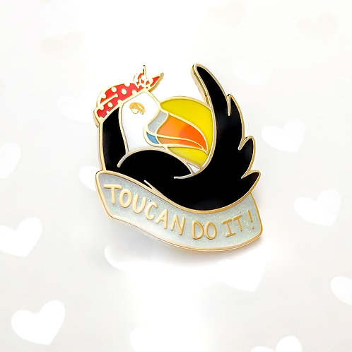 Toucan Do It Pins