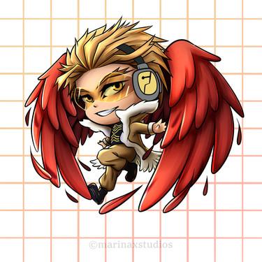 Hawks Sticker