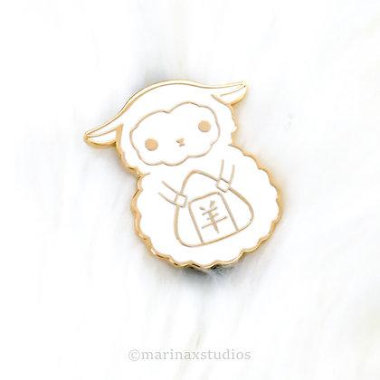 White Sheep Pins