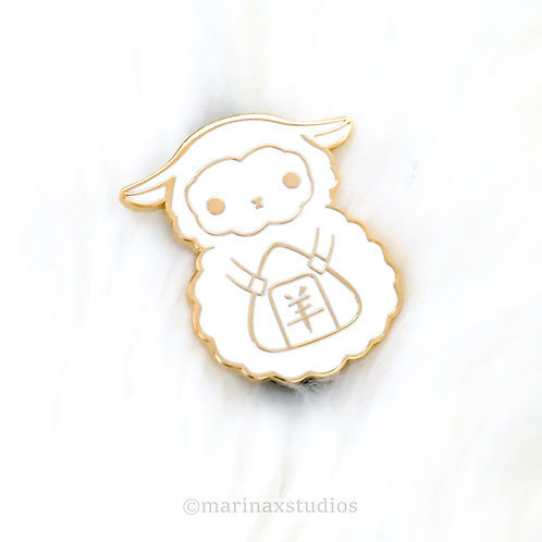 White Sheep Pins