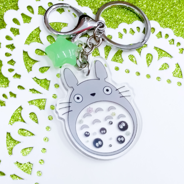 Totoro Acrylic Charm