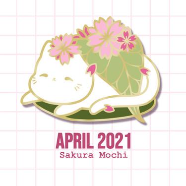 April Sticker Design
