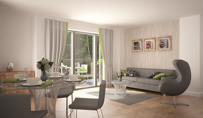 Interior CGI, Architectural Visualisation