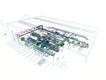Construction Project in Africa - BIM Modeling.