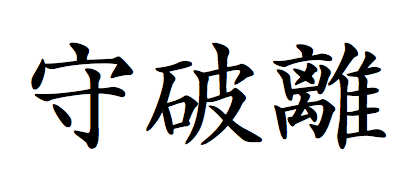 Концепция обучения японским боевым искусствам (Шу-ха-ри,  Shu-ha-ri).