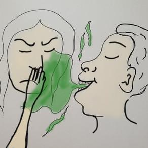 Mundgeruch - Komm mir nicht zu nah!