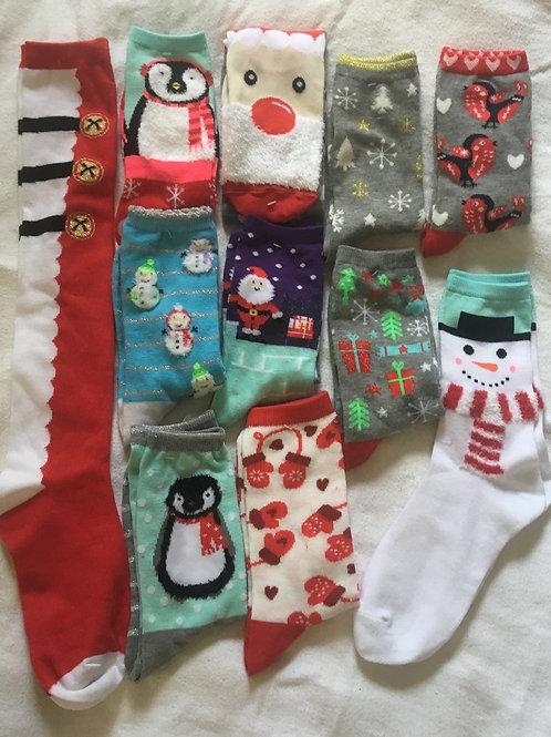 Holiday Socks Fundraiser