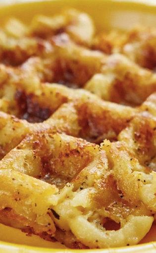 Mac-N-Cheese Waffle