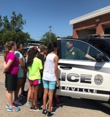 They loved touring the police department and learning about bullying.