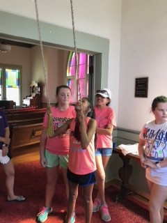 Ms. Dana was kind enough to let us ring the chapel bells at the Stephenville Historical House Museum.