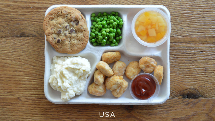 School Lunches Around the World