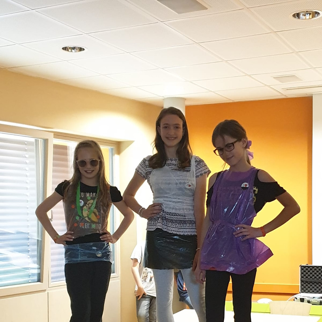 PM Schulprojekte - Modeschau