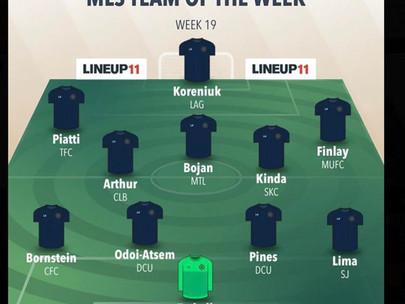 MLS Team Of The Week: Week 19