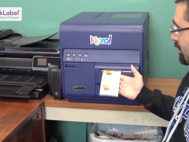Dave's Marketplace Uses a Kiaro! Printer