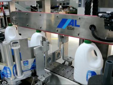 ALTECH ALritma X PLASTIC BOTTLES LABELING - ETIQUETAGE SUR FLACONS.mp4