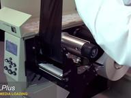 Zebra 105SLPlus_ Ribbon & Media Loading