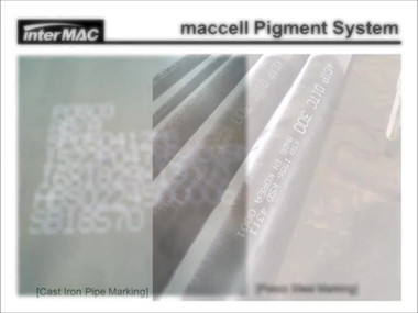 10Maccell White Pigment DOD Hand held ma