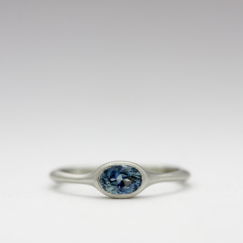 Australian sapphire ring