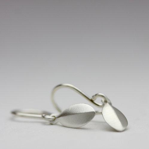 Drop earrings in silver no. 1