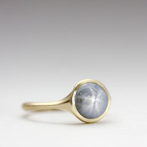 Star sapphire ring