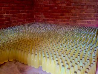 2 000 Flaschen Bio-Ananassaft
