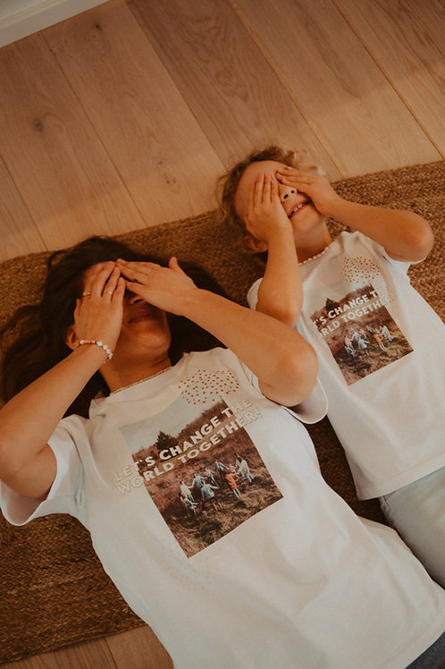 T-Shirt Let ́s Change The World - Kids