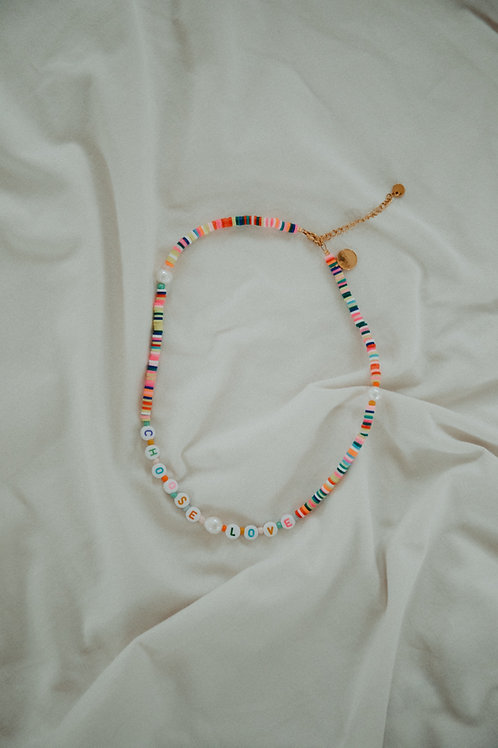 Necklace Choose Love
