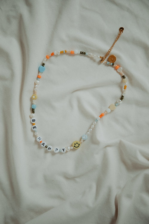 Necklace Be Happy