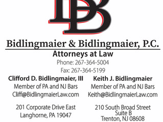 Bidlingmaier & Bidlingmaier is Moving! Check us out at our new Pennsylvania Office located at 20