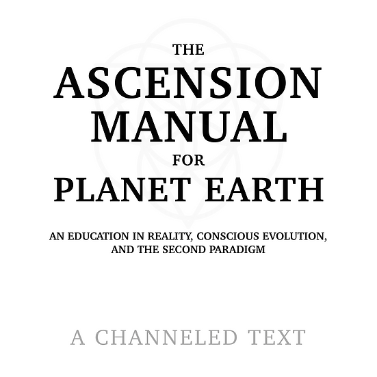 The Ascension Manual (Audiobook)