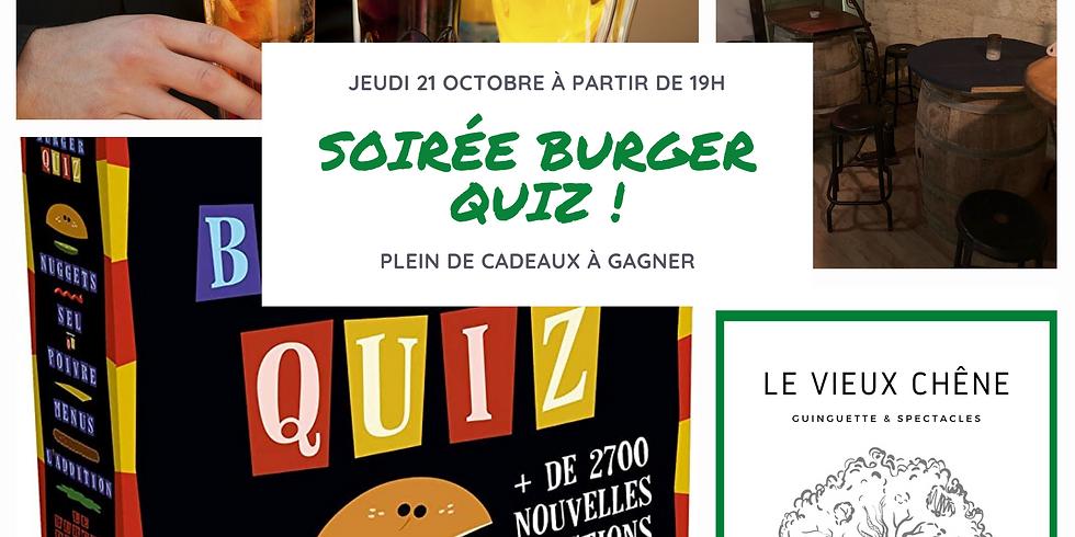 Soirée Burger Quiz !
