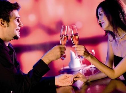 Романтический номер для влюбленных