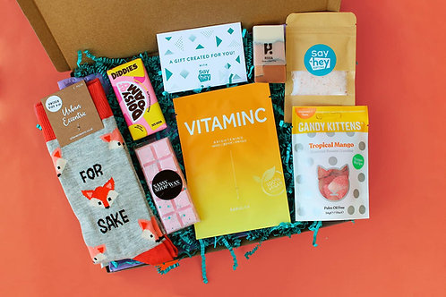 CARE PACKAGE - VEGAN LETTERBOX