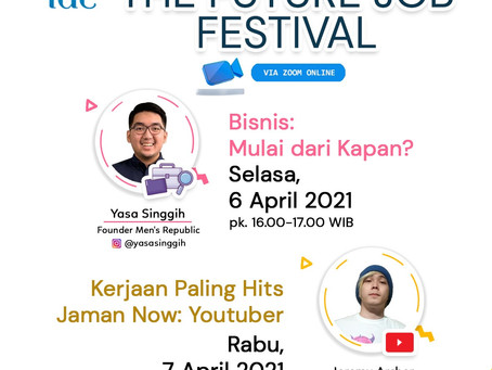 Future Job Festival (5 - 18 April 2021)