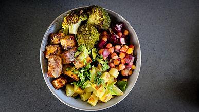 Vegan Vegetable & Tofu Bowl