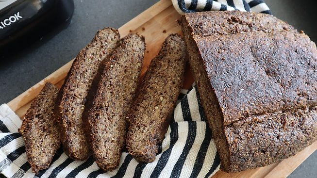 Homemade Vegan & Gluten-Free Bread