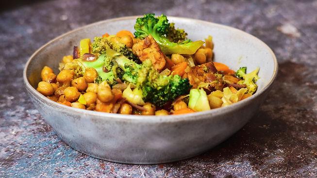 Crispy Tempeh with Vegetables Recipe