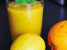 Delicious Mango, Orange & Lemon Smoothie Recipe
