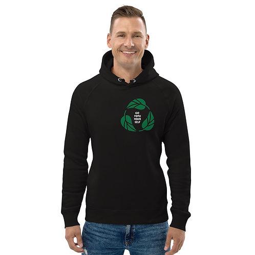 GO TOFU YOURSELF MINIMALIST Unisex pullover hoodie