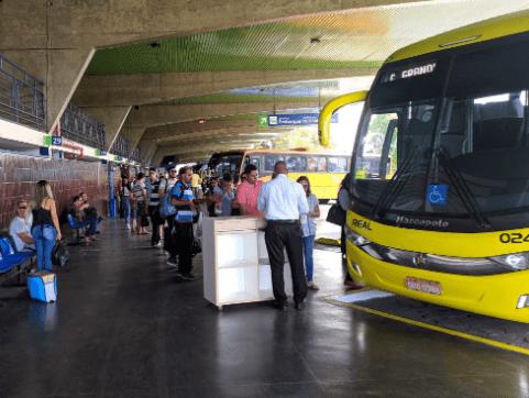 Terminais rodoviários estão fechados a partir de amanhã e só reabrem no dia 5 na Paraíba