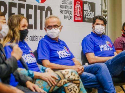 """Leo Bezerra destaca importância do """"Você Prefeito"""" para aproximar população da PMJP"""