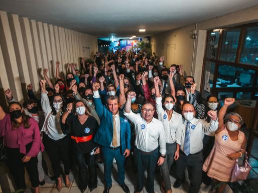 Centenas de advogados  vão a lançamento da pré-candidatura de Paulo Maia ao Conselho Federal da OAB