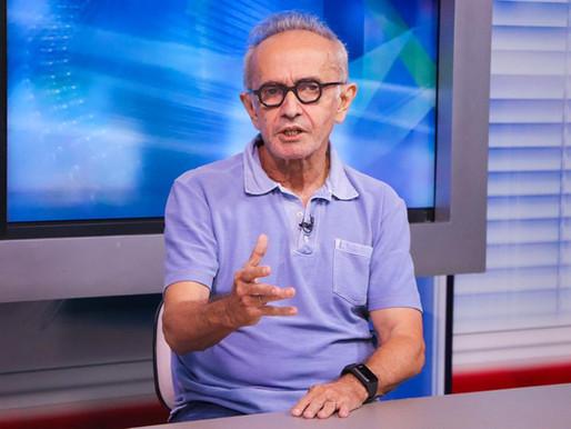 Cícero Lucena concede entrevista coletiva nesta segunda-feira