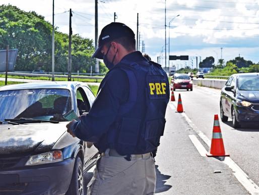 Polícia Rodoviária Federal inicia hoje Operação Semana Santa 2021 na Paraíba