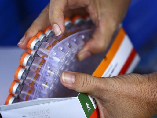 MS prepara distribuição de 3,2 milhões de doses da vacina contra covid-19 com os Estados