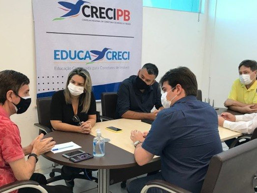 Prefeitura de Conde e Creci discutem parcerias em prol dos corretores de imóveis do litoral sul