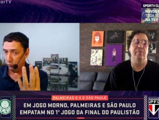 Farpas na TV: Casagrande e Paulo Vinícius Coelho brigam no SporTV