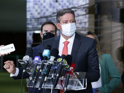 Lira vai buscar saídas para enfrentar pandemia junto com governadores e Comissão de Orçamento