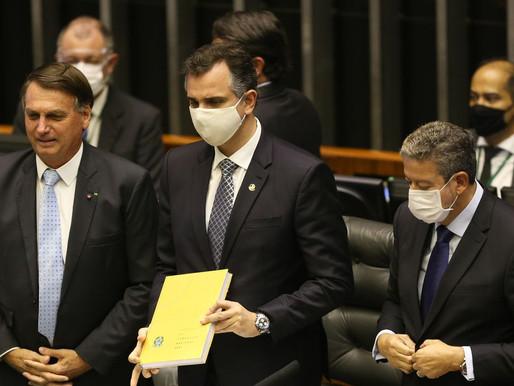 Lira, Pacheco e Fux se reúnem com Bolsonaro, hoje, para discutir medidas de enfrentamento à COVID-19